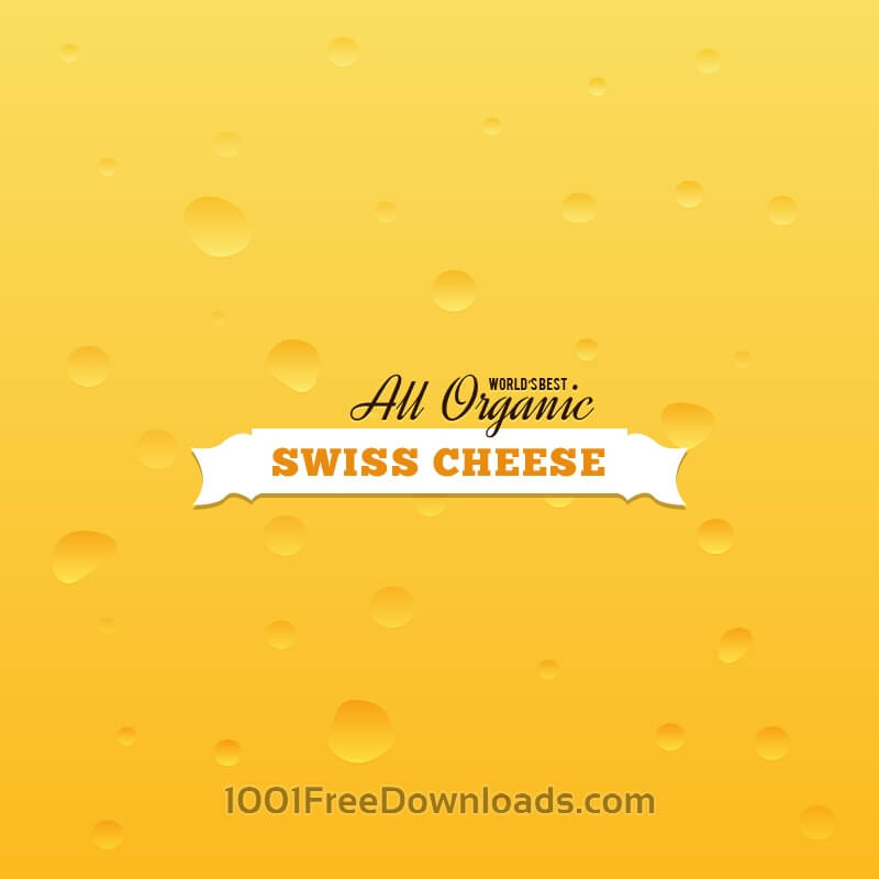 Free Swiss Cheese Background