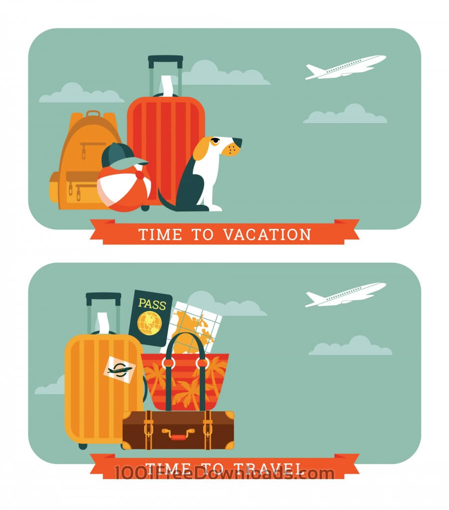Free Vectors: Travel Illustration. | Abstract