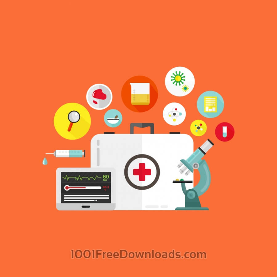 Free Vectors: Medical Research | Icons