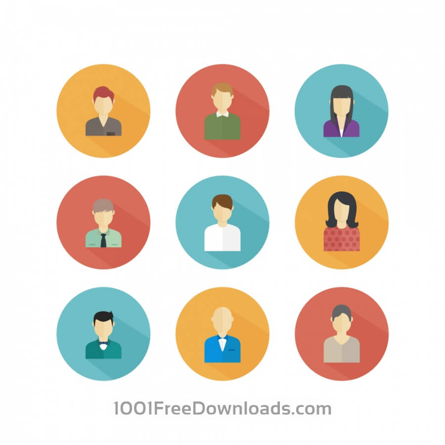 Free Vectors: People Icons | People