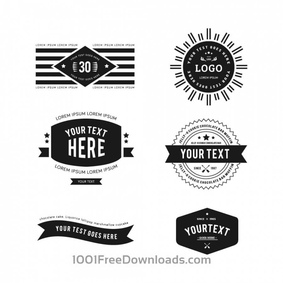 Free Vectors: Vintage Logos | Vintage