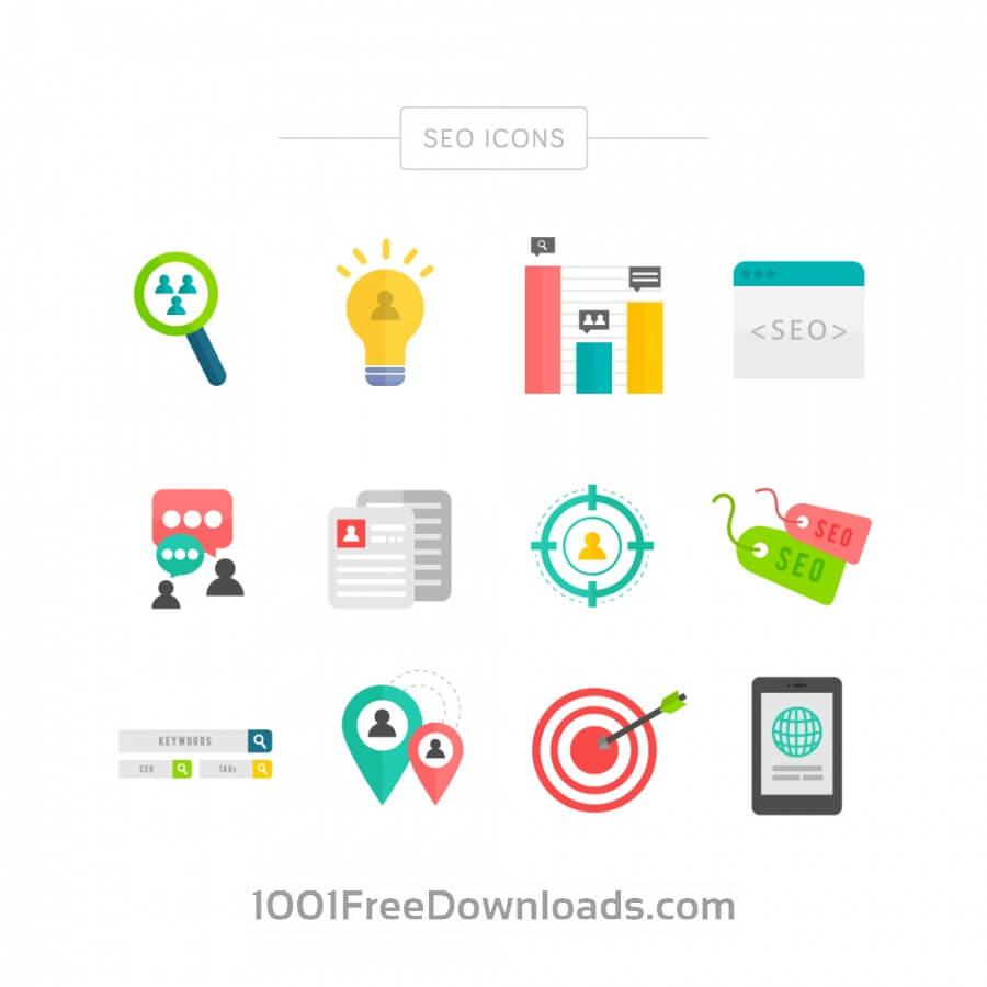 Free SEO Icons