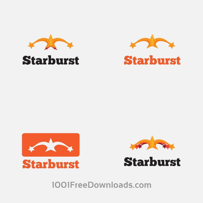 Free Vectors: Starburst Vector Logo | Abstract