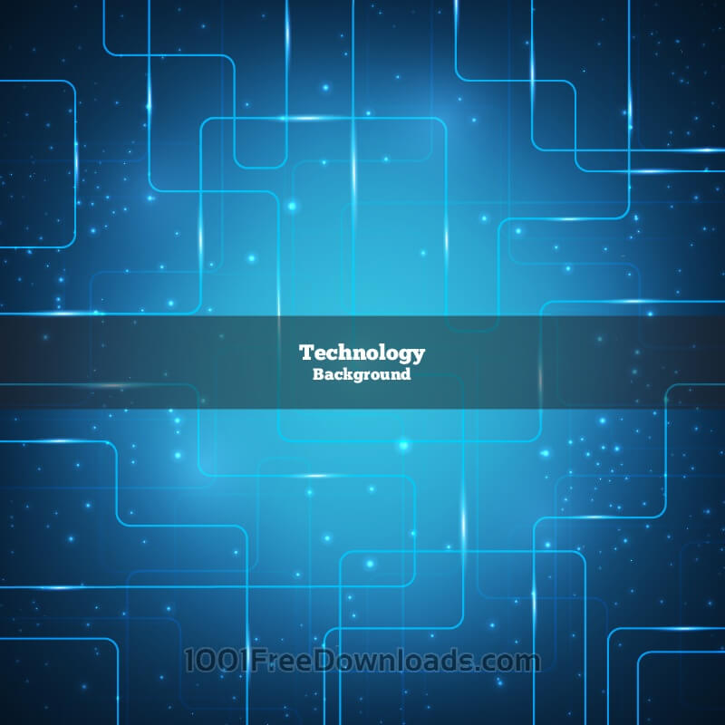 Free Vectors: Vector Technology Background | Abstract
