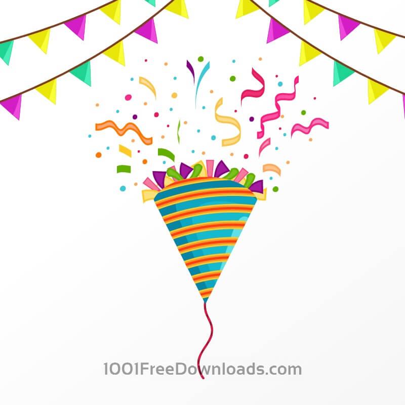 Free Vectors: Happy birthday vector illustration | Backgrounds