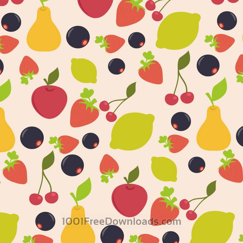 Free Vectors: Food pattern | Abstract