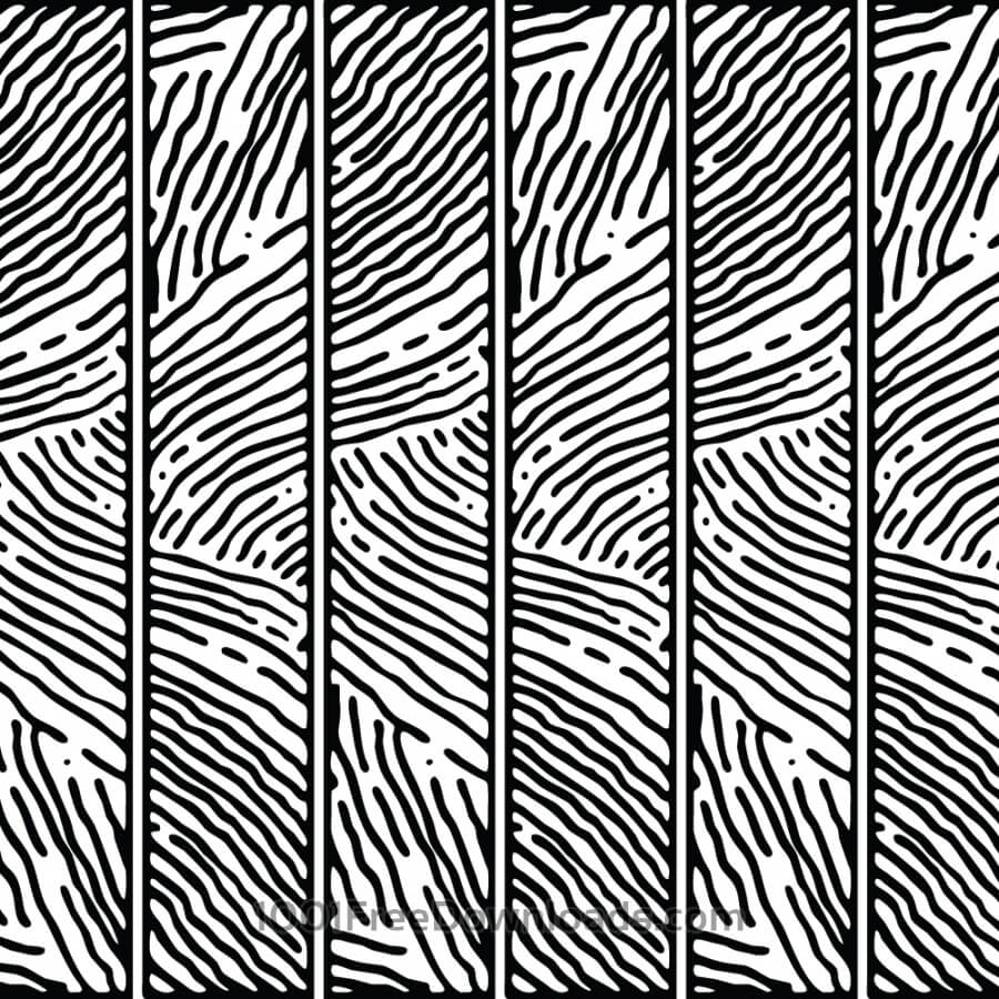 Free Vectors: Hand Drawn Lined Pattern | Abstract