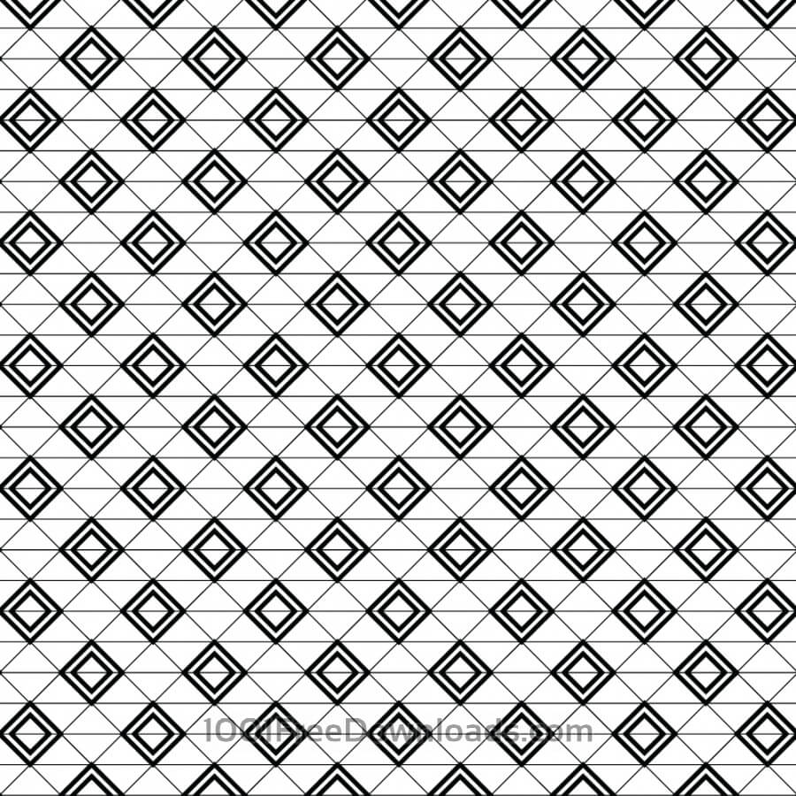 Free Vectors: Modern Textile Geometric Pattern | Abstract