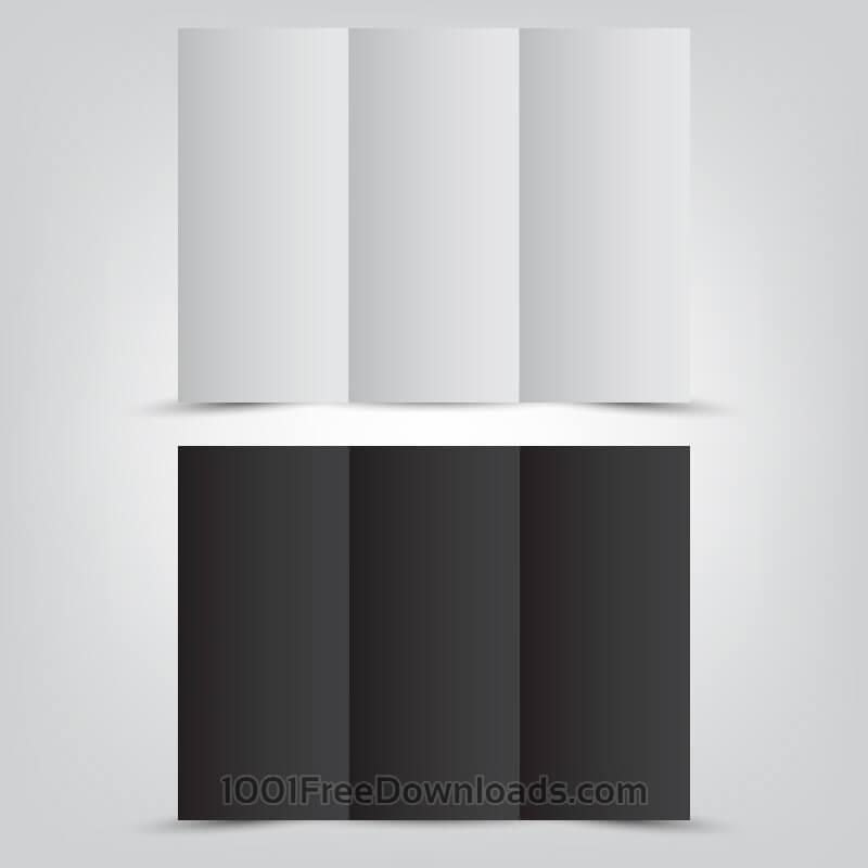 Free Tri Folded Brochure Template