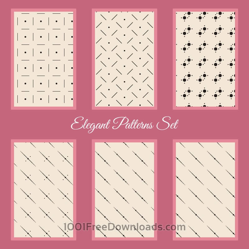 Free Elegant Patterns Set