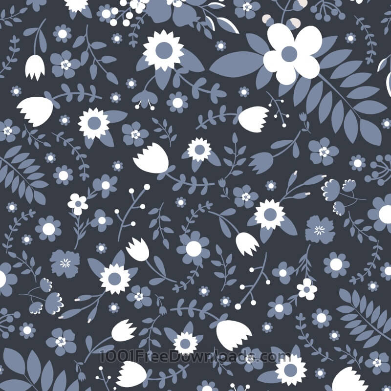 Free Vectors: Floral vector pattern | Patterns