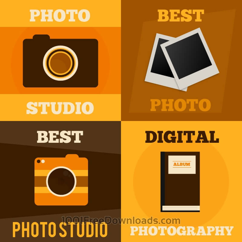Free Photography vector posters