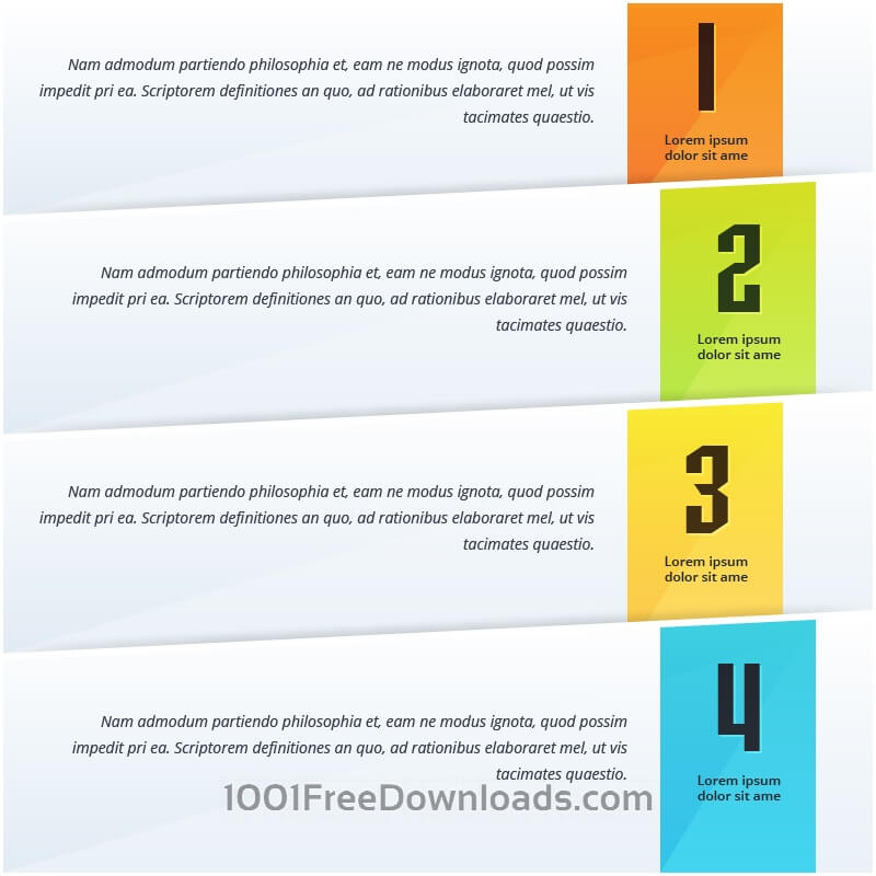 Free Infographic options design