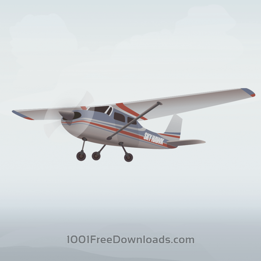 Free Vectors: Airplane | Transport