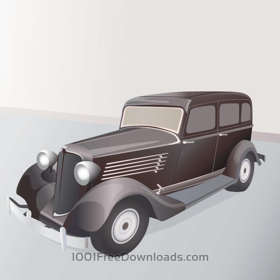 Free vintage limousine