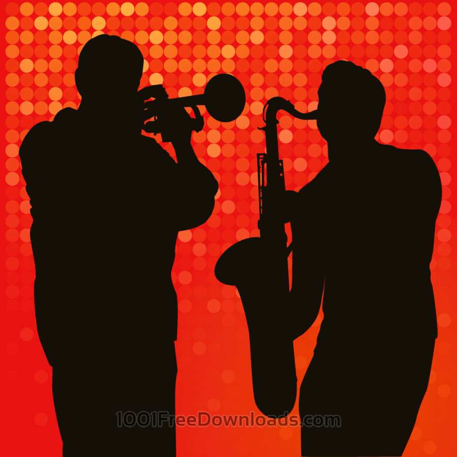 Free Vectors: Jazz session | People
