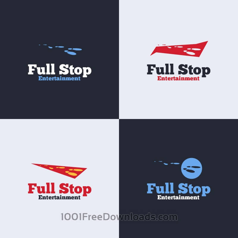 Free Full Stop Vector Logo