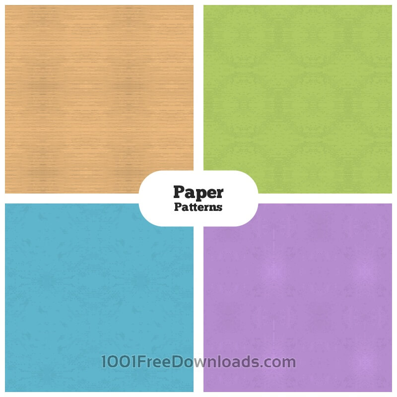 Free Vector Paper Patterns