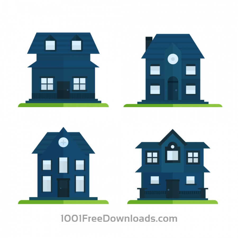 Free Vectors: House Icons | Icons
