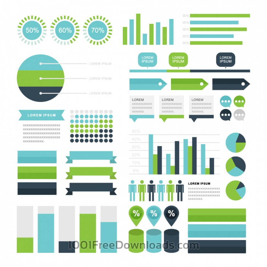 Free Vectors: Infographic Elements | Design