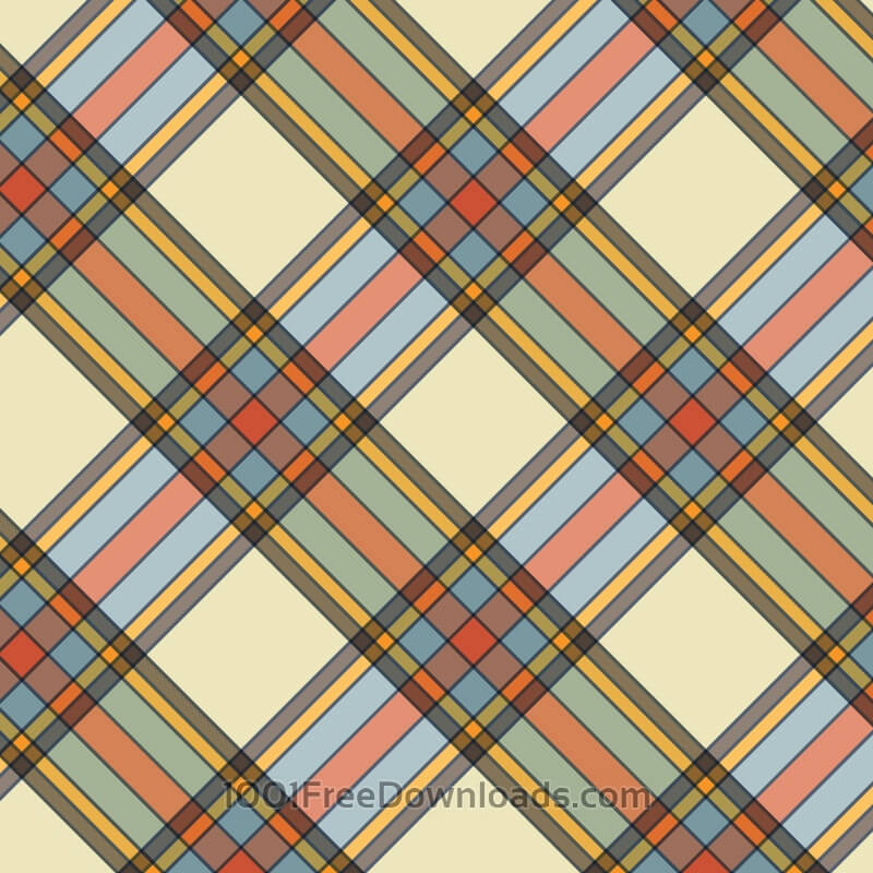 Retro plaid background
