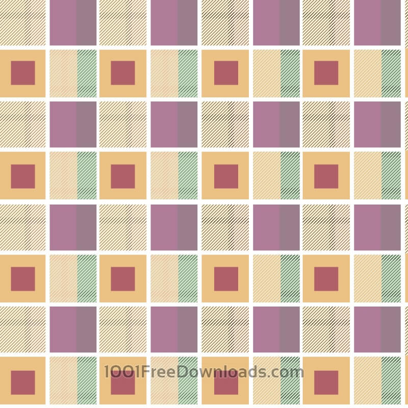 Free Geometric plaid background