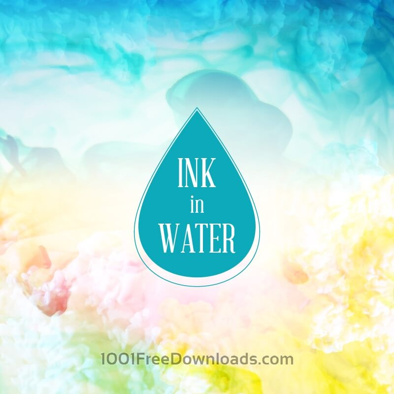Free Vectors: Ink in water background | Abstract