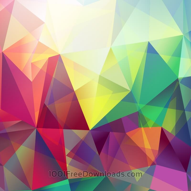 Free Abstract triungle background