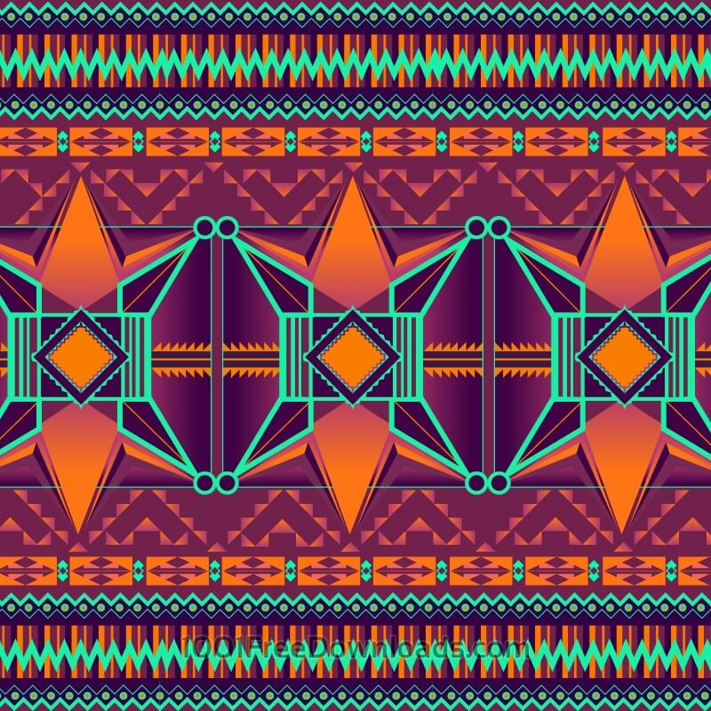 Free Vectors: Aztec background | Abstract