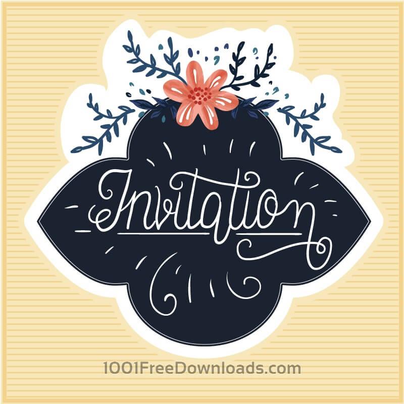 Free Vectors: Vintage floral cards  | Flowers