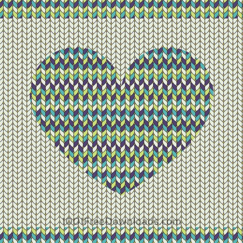Free Romantic fabric pattern