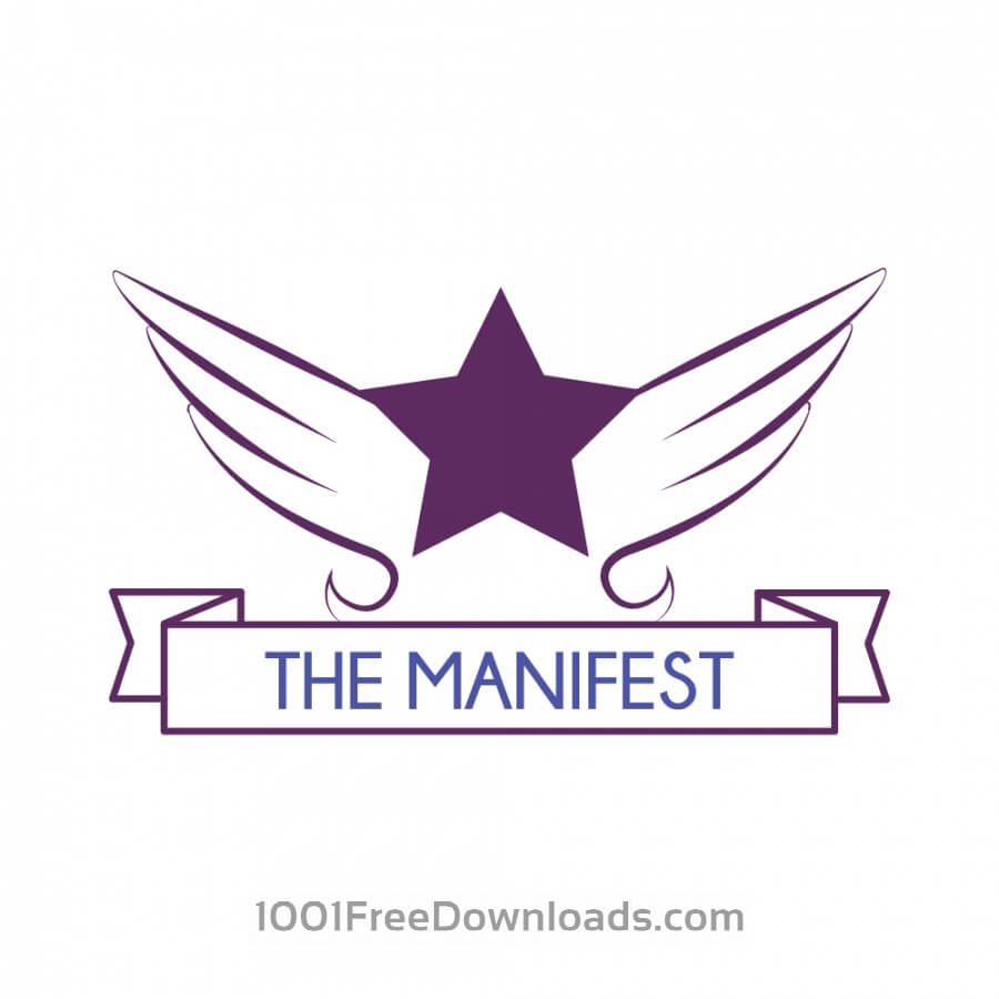 Free Vectors: The Manifest Logo | Logos