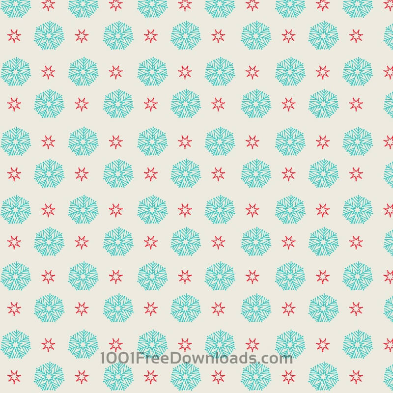 Free Vectors: Snow flake pattern | Backgrounds