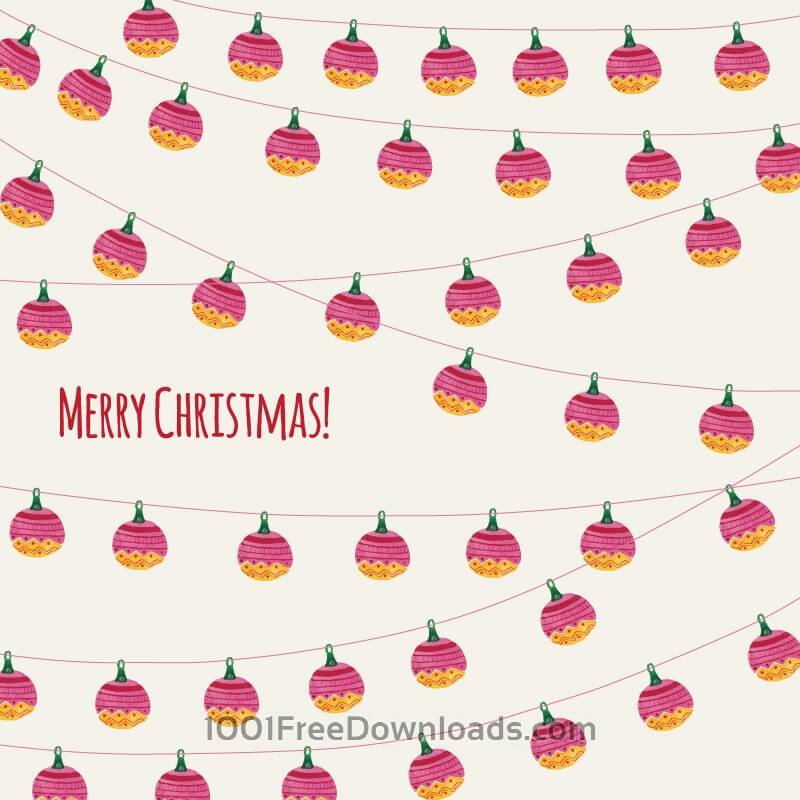 Free Vectors: Christmas background | Backgrounds