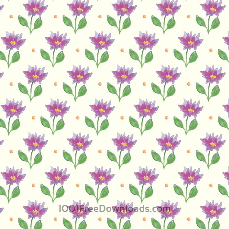 Free Vectors: Spring pattern | Patterns