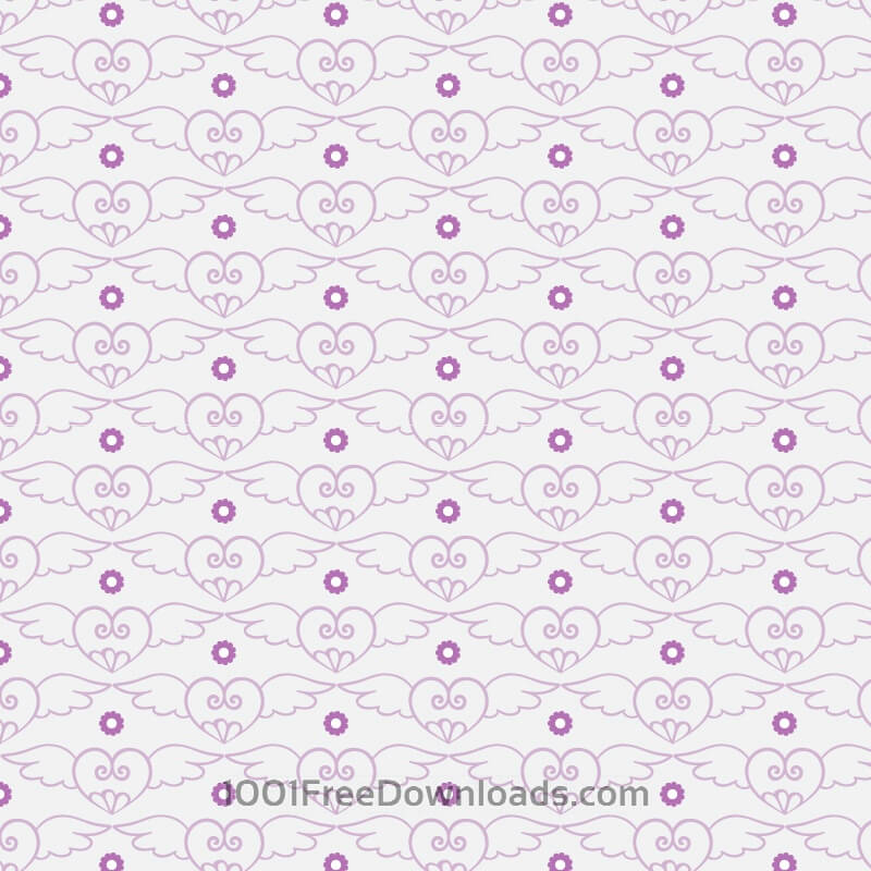 Free Vectors: Love pattern | Valentine