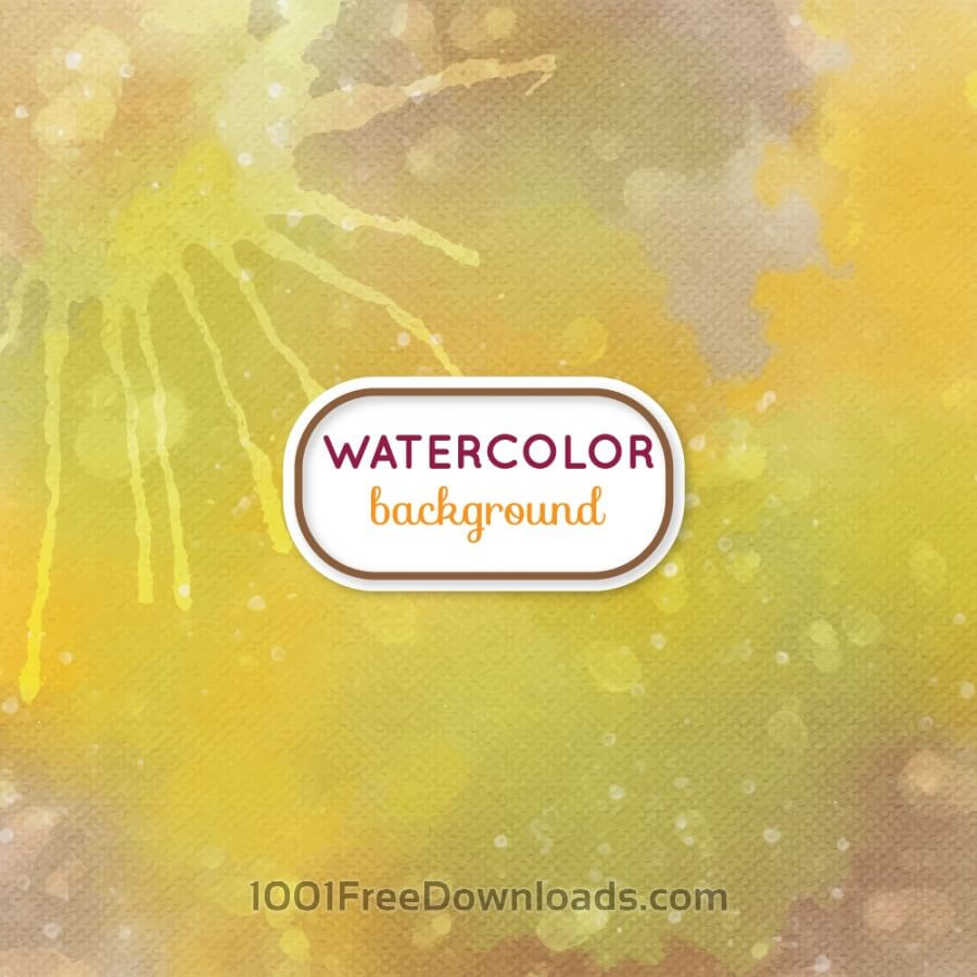 Free Watercolor background with frame