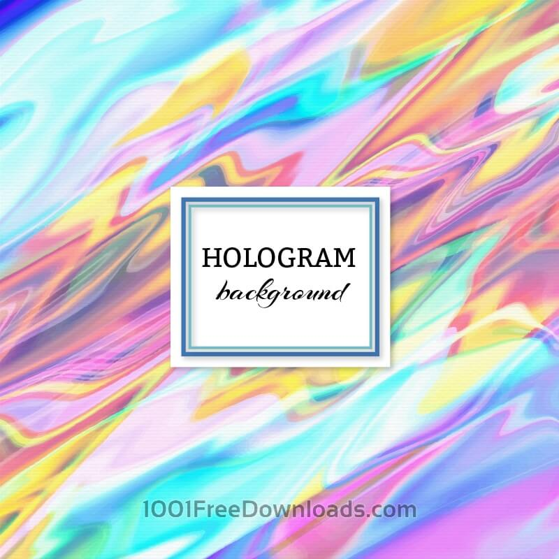 Free Vectors: Hologram background | Abstract