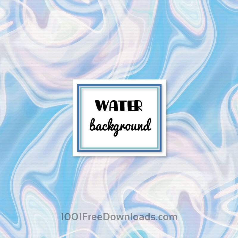 Free Water abstract background