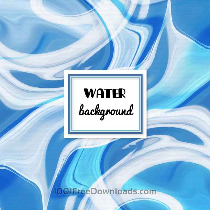 Free Vectors: Water abstract background | Abstract