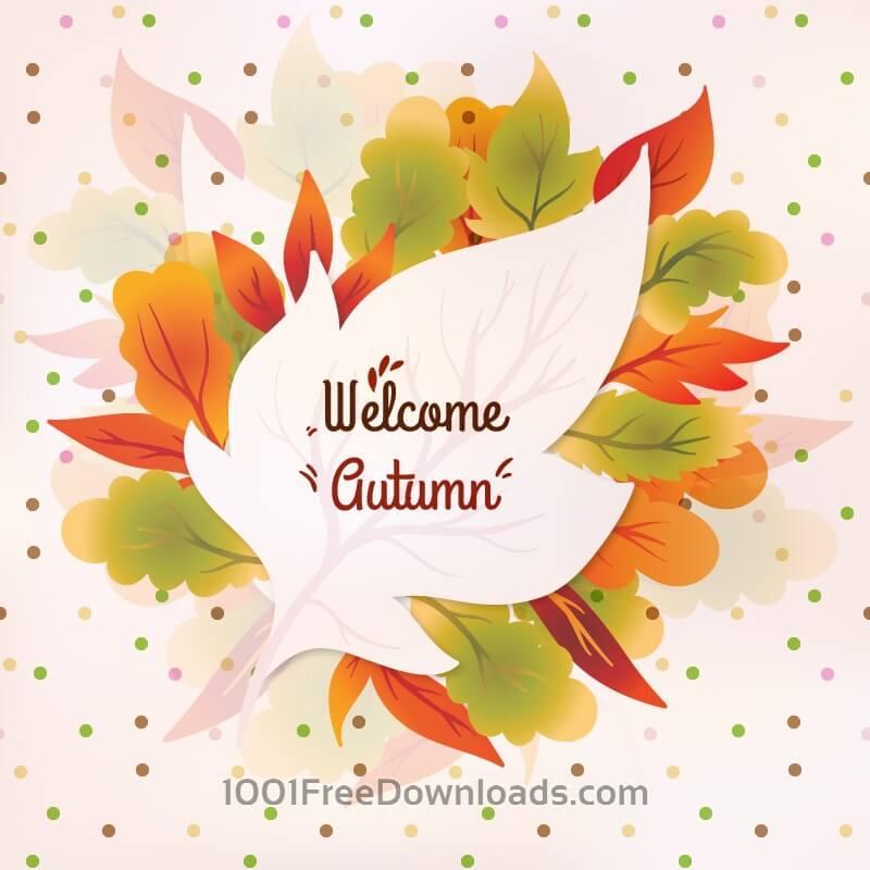 Free Autumn Vector Illustration
