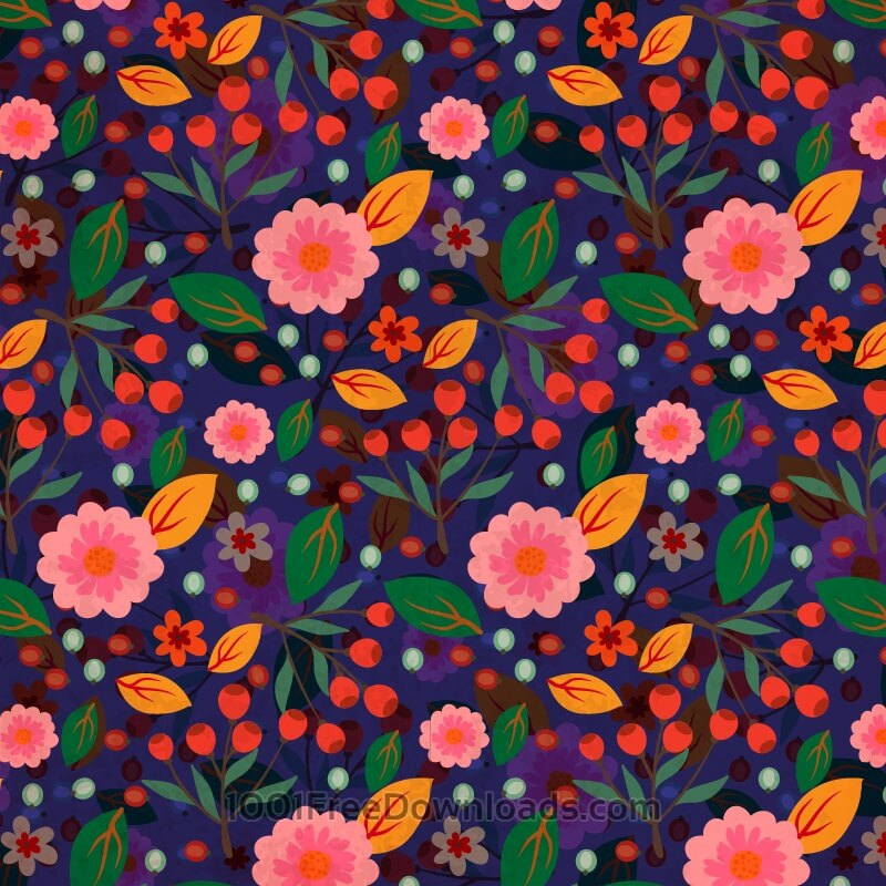Free Flora Nature Pattern
