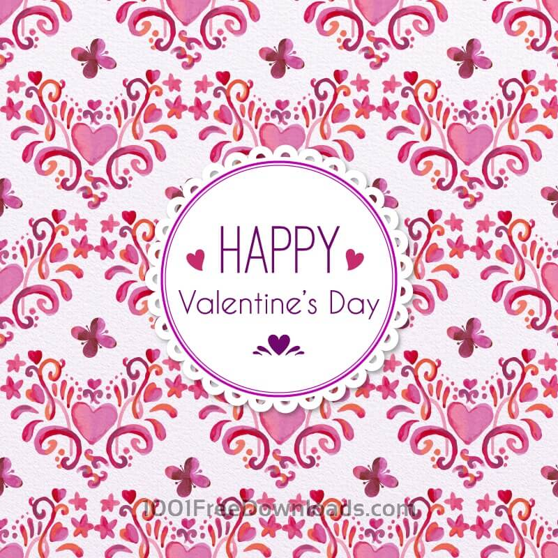 Free Vectors: Romantic Floral Pattern | Patterns