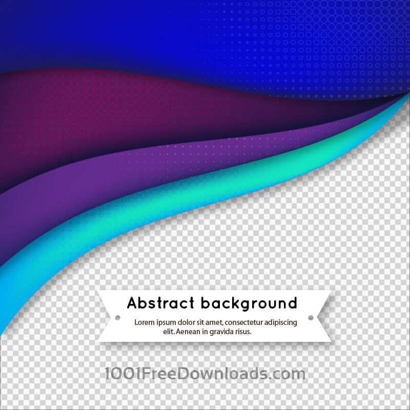 Free Abstract wavy background