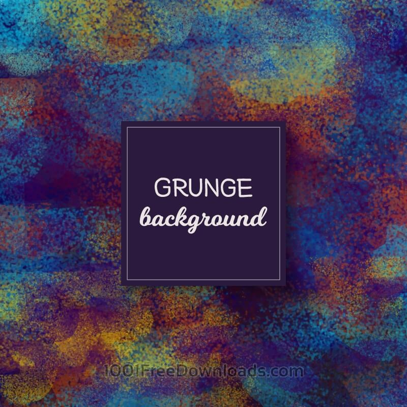 Free Colorful grunge background