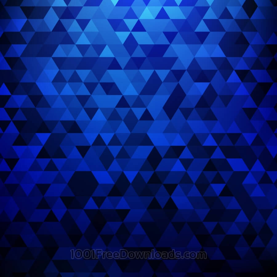 Free Abstract blue geometric background