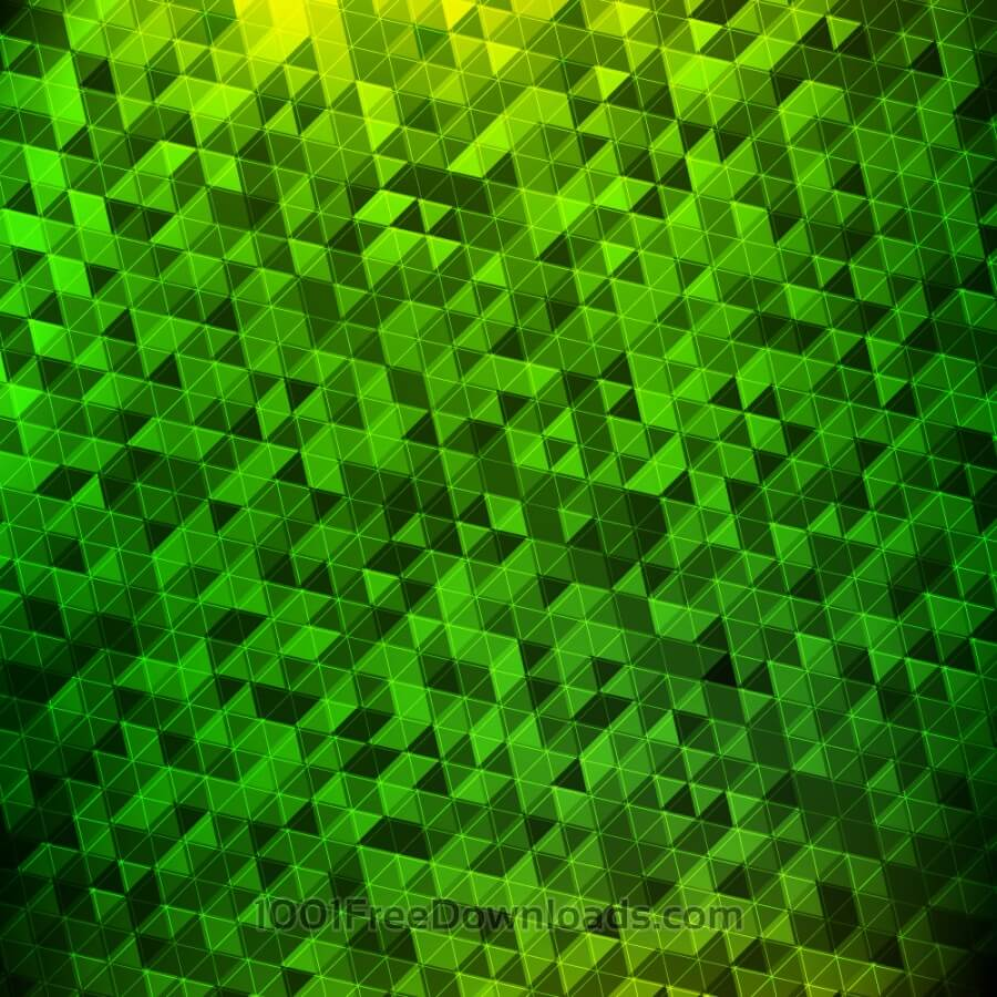 Free Abstract green geometric background