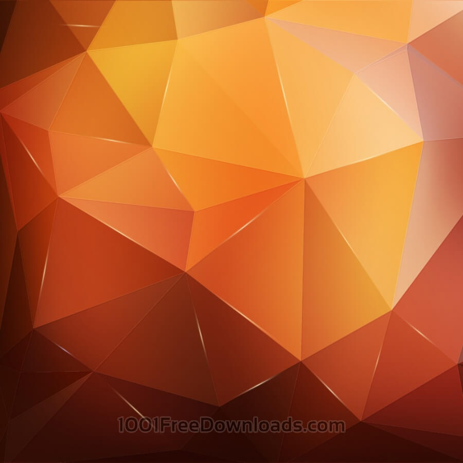 Free Abstract orange geometric background