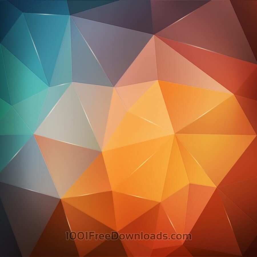 Free Abstract geometric background