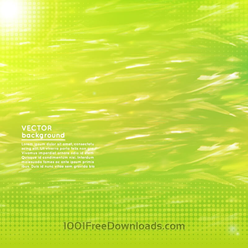 Free Abstract wavy green modern background design